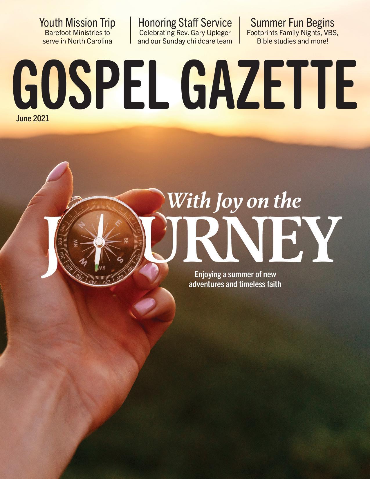 Gospel Gazette: June 2021